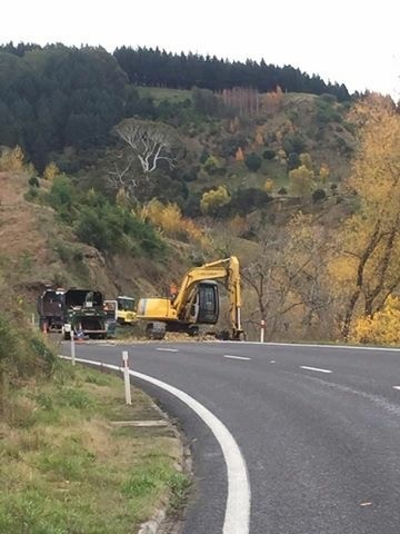 Road side felling